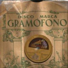 Discos de pizarra: OTELLO ( VERDI ) CANTAN TITTA RUFFO Y ENRICO CARUSO. Lote 51654278