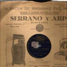 Discos de pizarra: ZARZUELA LAS GOLONDRINAS : CANTA MARCOS REDONDO . Lote 51654332
