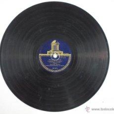 Discos de pizarra: DISCO DE PIZARRA PARA GRAMOFONO ANTONIO MOLINA CON MARIANO DE CORDOBA - ALEGRIAS Y SOLEARES . Lote 52290252