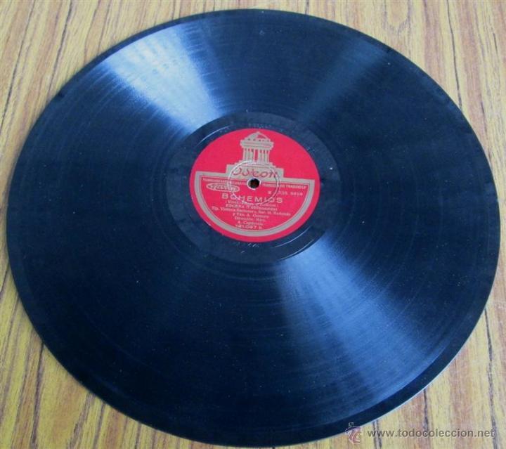 Discos de pizarra: Álbum con 6 discos de pizarra BOHEMIOS - Foto 9 - 52293897