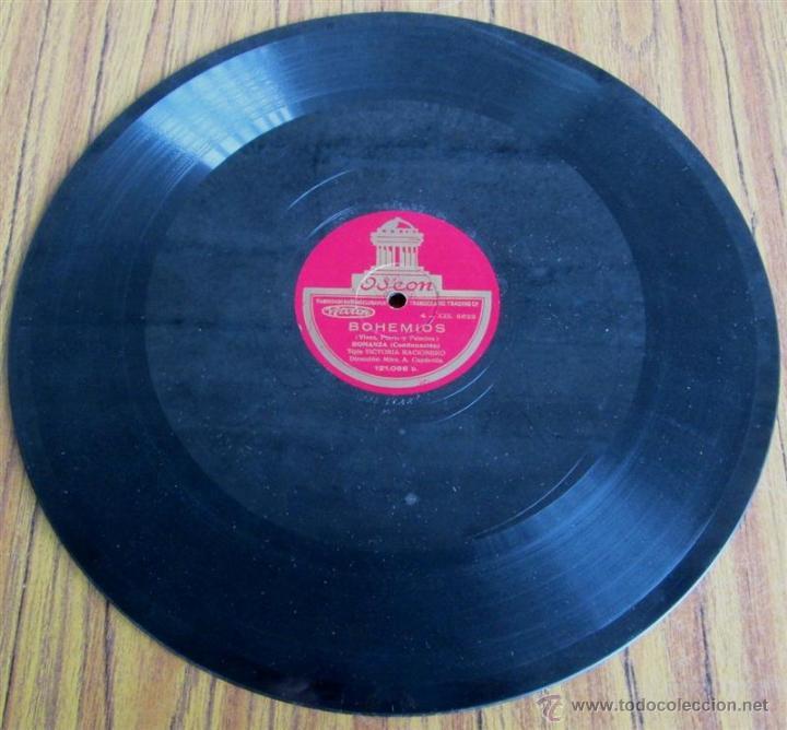 Discos de pizarra: Álbum con 6 discos de pizarra BOHEMIOS - Foto 13 - 52293897