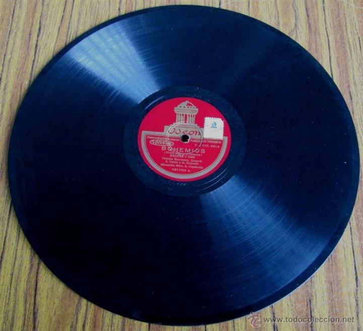 Discos de pizarra: Álbum con 6 discos de pizarra BOHEMIOS - Foto 19 - 52293897