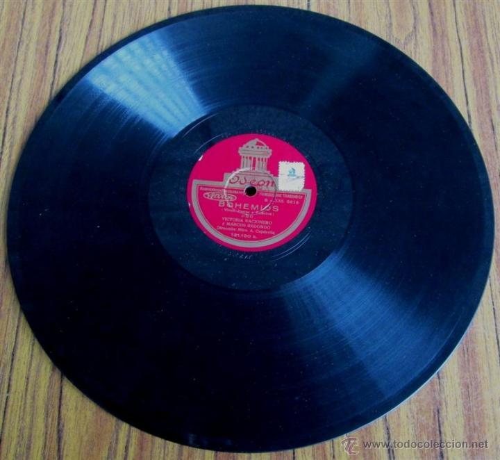 Discos de pizarra: Álbum con 6 discos de pizarra BOHEMIOS - Foto 21 - 52293897