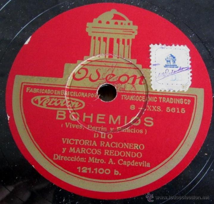 Discos de pizarra: Álbum con 6 discos de pizarra BOHEMIOS - Foto 22 - 52293897