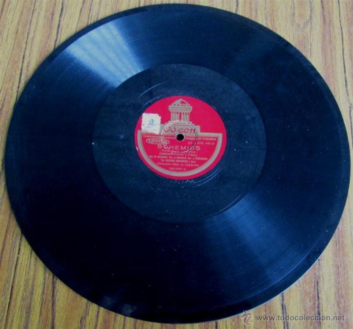 Discos de pizarra: Álbum con 6 discos de pizarra BOHEMIOS - Foto 23 - 52293897