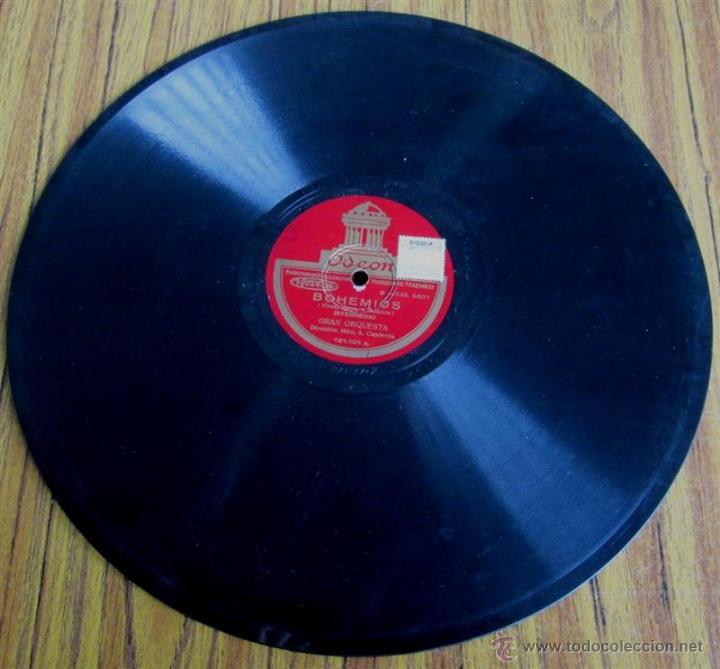 Discos de pizarra: Álbum con 6 discos de pizarra BOHEMIOS - Foto 25 - 52293897