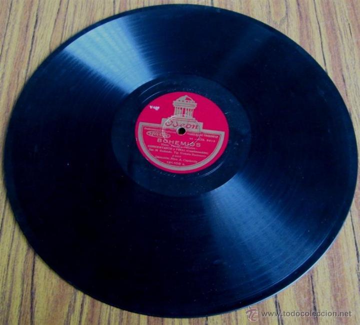 Discos de pizarra: Álbum con 6 discos de pizarra BOHEMIOS - Foto 27 - 52293897