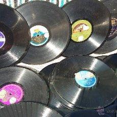 Discos de pizarra: 22 DISCOS DE PIZARRA VARIOS. Lote 52440183