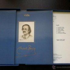 Discos de pizarra: ANGEL BARJA, VIDA Y OBRA . OBRA COMPLETA EN 4 DISCOS Y 2 LIBROS, CAJA DE LUJO.. Lote 52788308