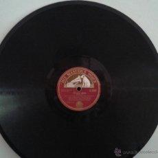 Discos de pizarra: DISCO DE PIZARRA . Lote 52938473