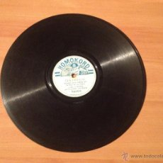 Discos de pizarra - ANTIGUO DISCO PIZARRA HOMOKORD GARROTIN - LAS CAMPANAS NIÑA DE LOS PEINES - 52966550