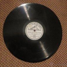 Discos de pizarra: DISCO DE PIZARRA DE MARIO GABARRON CON MELCHOR DE MARCHENA A LA GUITARRA. Lote 53032814