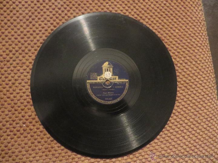 Discos de pizarra: DISCO DE PIZARRA PEPE BLANCO - Foto 2 - 53106628