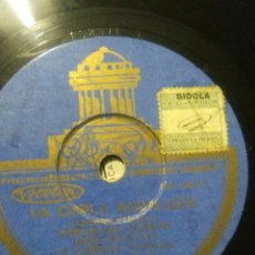 Discos de pizarra: DISCO DE COPLA ANDALUZA DE MANUEL CARRERA JESÚS PEROSAN FANDANGUILLO. Lote 53145446