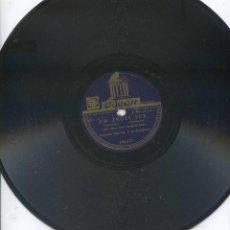 Discos de pizarra: ANTONIO MACHIN / UN ANGEL FUE / CORAL (ODEON 184.671). Lote 53185142