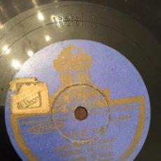 Discos de pizarra: DISCO DE PIZARRA MANUEL VALLEJO. Lote 53277930