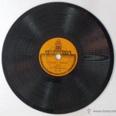 Discos de pizarra: DISCO DE PIZARRA PARA GRAMOFONO-COBLA ELS MONTGRINS-SOSPIRS D'AMOR Y RIALLES DE BOHEMIA -SARDANA. Lote 53330762