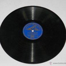 Discos de pizarra: DISCO DE PIZARRA 78 RPM - CONCHITA PIQUER CON ORQUESTA - ALMUDENA / DIME QUE ME QUIERES - ED. LA VOZ. Lote 53414360