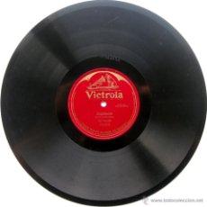 Discos de pizarra: JAN KUBELIK (VIOLIN) - ZAPATEADO (SARASATE) - VICTROLA 1911 78RPM 12 PULGADAS BPY. Lote 53419973