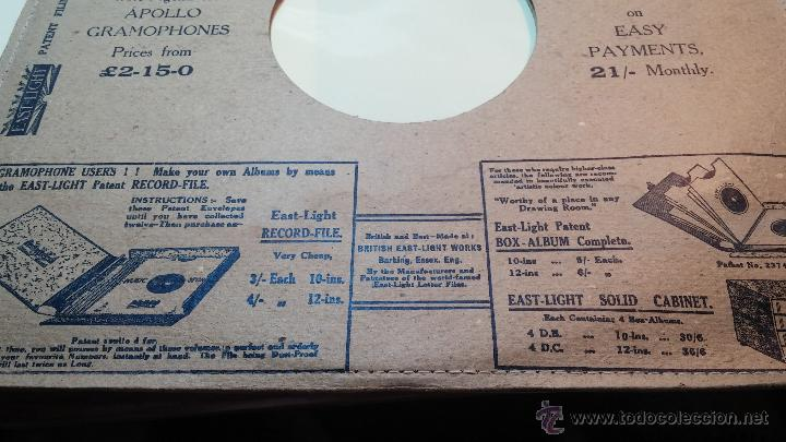 Discos de pizarra: Disco de pizarra antiguo, NAT KING COLE, un trozo del filo del disco está partido - Foto 3 - 53532018