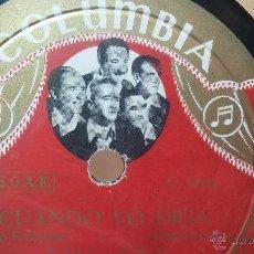 Discos de pizarra: DISCO DE PIZARRA ANTIGUO, LOS XEY... NOCHE AZUL- BOLERO CHA CHA CHÁ, CUANDO YO DIGA, CHA CHA CHÁ. Lote 53532773