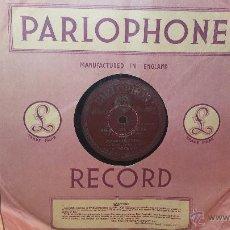Discos de pizarra: DISCO DE PIZARRA ANTIGUO, IMPERIO ARGENTINA, ANDATE CON OTRO - TANGO, DESCONOCIDA - VALLS CRIOLLO. Lote 53533282