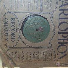 Discos de pizarra: DISCO DE PIZARRA ANTIGUO, CUPLE... LA GATITA BLANCA, CANTADO POR LA SRTA SOLER. Lote 53534370