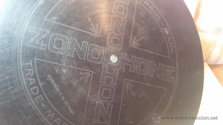Discos de pizarra: Disco de pizarra antiguo, CUPLE... LA GATITA BLANCA, cantado por la Srta SOLER - Foto 11 - 53534370