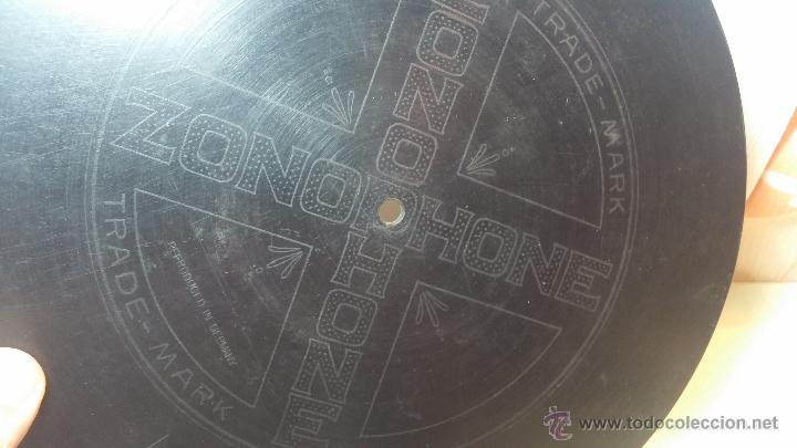 Discos de pizarra: Disco de pizarra antiguo, CUPLE... LA GATITA BLANCA, cantado por la Srta SOLER - Foto 14 - 53534370