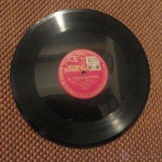 Discos para gramofone: DISCO DE PIZARRA IL TROVATORE POR HIPOLITO LAZARO. Lote 53648163