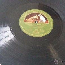 Discos de pizarra: CANCIÓN MONTAÑESA DISCO DE PIZARRA. Lote 53657045
