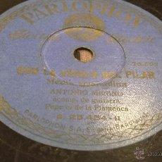 Discos de pizarra: DISCO DE PIZARRA ANTONIO MERINO. Lote 53658916