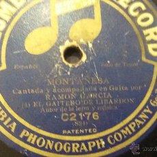Discos de pizarra: DISCO DE PIZARRA GAITERO DE LIBARDON. Lote 53660730