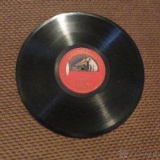Discos de pizarra: DISCO DE PIZARRA MIGUEL FLETA-TOSCA Y RIGOLETTO-. Lote 53711779