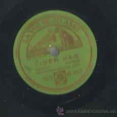 Discos de pizarra: WASHBOARD RHYTHM BOYS : TIGAR RAG / MCKINNEY´S COTTON PICKERS: LLORANDO Y SUSPIRANDO. Lote 53820696