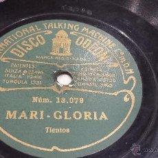 Discos de pizarra: DISCO DE PIZARRA FLAMENCO. Lote 53991361