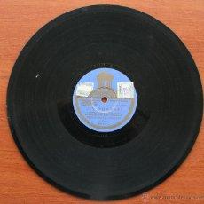 Discos de pizarra: DISCO DE PIZARRA PARA GRAMOFONO: AY TOMASA / YO QUIERO VER CHICAGO – CHARLESTON PASODOBLE MILITAR. Lote 54350407