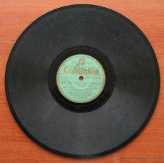 Discos de pizarra: DISCO DE PIZARRA PARA GRAMOFONO: DIME QUE SI / MI PLEGARIA – QUINTERO FOXTROT - ROGELIO BARBA. Lote 54350766