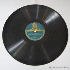 Discos de pizarra: DISCO DE PIZARRA. LOS CHIMBEROS: CINCO PUEBLOS / DOÑA RITA VA DE VIAJE.. Lote 54385883