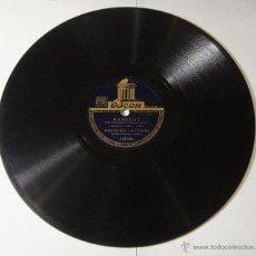 Discos de pizarra: DISCO DE PIZARRA. ODEON. ROBERTO INGLEZ: RAMINAY / DELICADO.. Lote 54393007
