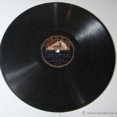 Discos de pizarra: DISCO DE PIZARRA. LA VOZ DE SU AMO. CONCHITA PIQUER: ROMANCE DE LA REINA MERCEDES / YO QUIERO VENDER. Lote 54393483