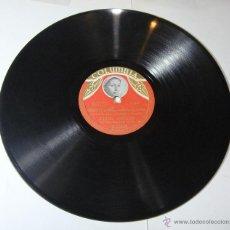 Discos de pizarra: DISCO DE PIZARRA. COLUMBIA. LUISA ORTEGA: !AY SERRANO DE MI VIA! / COMO CASTIGO DE DIOS.. Lote 54393809