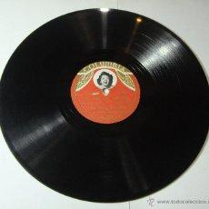 Discos de pizarra: DISCO DE PIZARRA. COLUMBIA. ANA MARIA GONZALEZ: EL SOL DE ESPAÑA / NO QUIERO VOLVER CONTIGO.. Lote 54394590