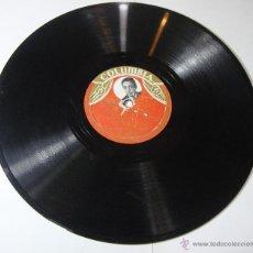 Discos de pizarra: DISCO DE PIZARRA. COLUMBIA. FERNANDO CAZ: GITANA SEVILLA / !OYE, MARY PEPA!. Lote 54394924