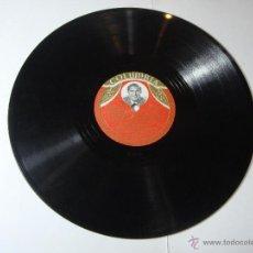 Discos de pizarra: DISCO DE PIZARRA. COLUMBIA. MARIO VISCONTI: LAS MUCHACHAS E LA PLAZA DE ESPAÑA / CUARTO CRECIENTE.. Lote 54395008