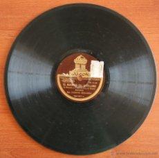 Discos de pizarra: DISCO PIZARRA GRAMOFONO ODEON: EL HUESPED DEL SEVILLANO – MARCOS REDONDO VER FOTOGRAFIAS ADICIONALES. Lote 54541469