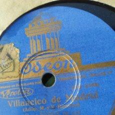 Discos de pizarra: DISCO DE PIZARRA VILLANCICO DE MADRID ARRE BORRIQUITO. Lote 54589793