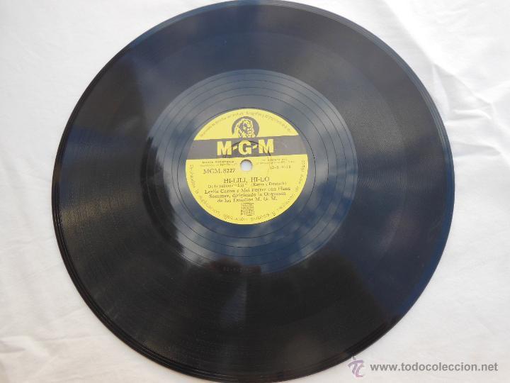 LESLIE CARON, MEL FERRER, HANS SOMMER : HI-LILI, HI-LO; ADORACIÓN. MGM 8227 (Música - Discos - Pizarra - Bandas Sonoras y Actores )
