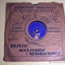 Discos de pizarra: LP PIZARRA 10'' (CANT DE JOIA / RITETA) - SARDANA COBLA BARCELONA - TENOR JOSÉ COLL (PARLOPHON). Lote 54834391