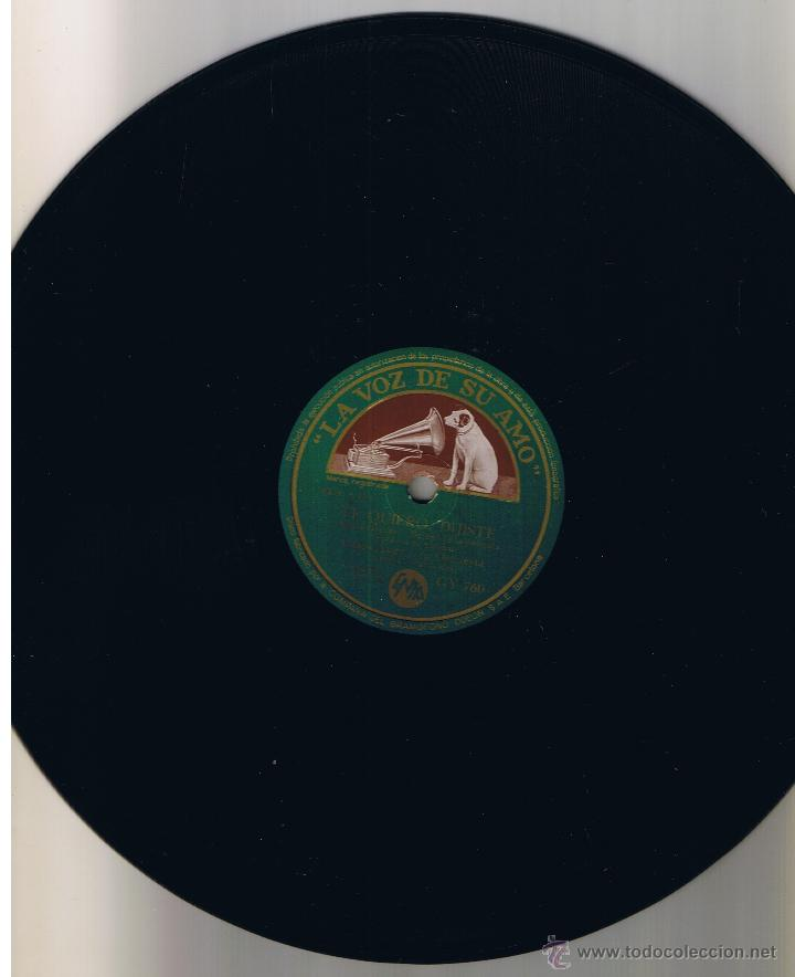 CASAS AUGE Y ORQUESTA Y HERMANAS RUSELL - ALMA LLANERA - TE QUIERO DIJISTE - LA VOZ DE SU AMO GY 760 (Música - Discos - Pizarra - Solistas Melódicos y Bailables)